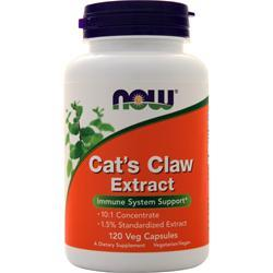 Now Cat's Claw Extract 120 vcaps