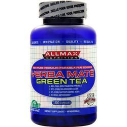 Allmax Nutrition Yerba Mate Green Tea 100 caps
