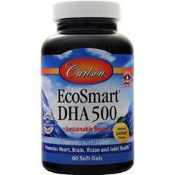 Carlson EcoSmart DHA Lemon 60 sgels