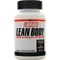 Labrada Lean Body Men's Multi-Vitamin Without Iron 60 vcaps