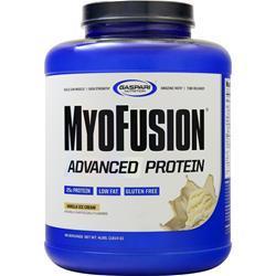 Gaspari Nutrition MyoFusion Advanced Protein Vanilla Ice Cream 4 lbs