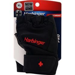 Harbinger Pro Wristwrap Glove Black (XL) 2 glove