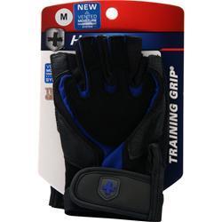 Harbinger Training Grip Glove Black/Blue (M) 2 glove
