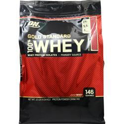 Optimum Nutrition 100% Whey Protein - Gold Standard Delicious Strawberry 10 lbs