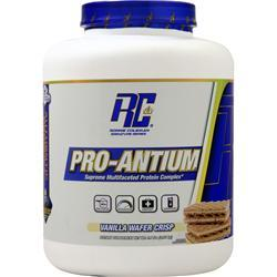 Ronnie Coleman Pro-Antium - Supreme Multifaceted Protein Complex Vanilla Wafer Crisp 4.74 lbs