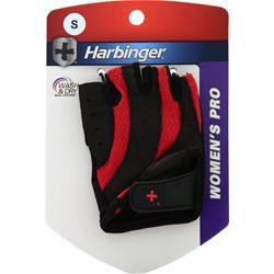 Harbinger Women's Pro Glove Wash and Dry Black/Blue (Small) 2 glove