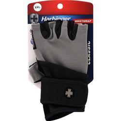 Harbinger Classic Wristwrap Glove Gray/Black (XXL) 2 glove