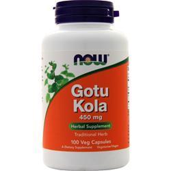 Now Gotu Kola (450mg) 100 vcaps