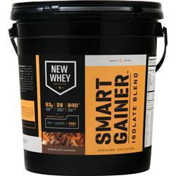 New Whey Nutrition Smart Gainer Isolate Blend Chocolate Carmel 10 lbs