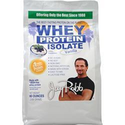Jay Robb Whey Protein Isolate Vanilla 80 oz