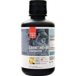 Iron-Tek Carnitine + B6 Complex Vanilla 16 fl.oz