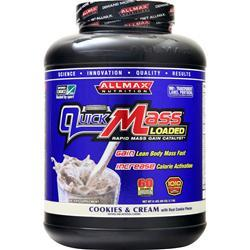 Allmax Nutrition QuickMass Cookies & Cream 6 lbs