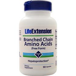 Life Extension Branched Chain Amino Acids (free form) 90 vcaps