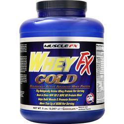 Muscle Fx WheyFx Gold Chocolate 5 lbs