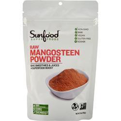 Sunfood Mangosteen Fruit Powder 3.5 oz