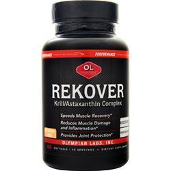 Olympian Labs Performance Sports Nutrition - Rekover  BEST BY 5/17 60 sgels