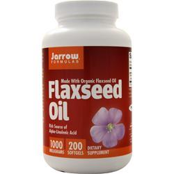 Jarrow Organic Flaxseed Oil (1000mg) 200 sgels