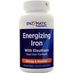 Enzymatic Therapy Energizing Iron with Eleuthero 90 sgels