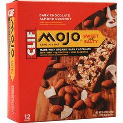 Clif Bar Mojo Bar Chocolate Almond Coconut 12 bars