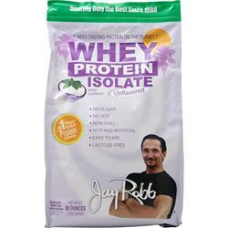 Jay Robb Whey Protein Isolate Unflavored 80 oz