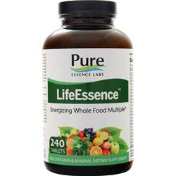Pure Essence Labs LifeEssence - Energizing Whole Food Multiple 240 tabs