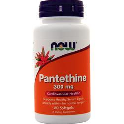 Now Pantethine (300mg) 60 sgels