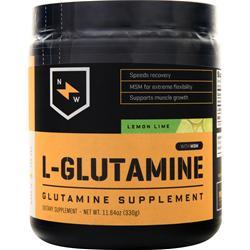 New Whey Nutrition L-Glutamine with MSM Lemon Lime 330 grams
