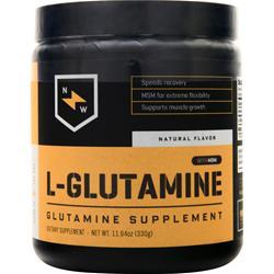 New Whey Nutrition L-Glutamine with MSM Natural 330 grams