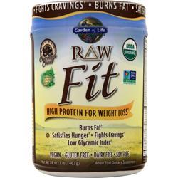 Garden Of Life Raw Fit - High Protein for Weight Loss Chocolate Cacao 16 oz