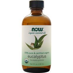 Now Certified Organic Eucalyptus Oil 4 fl.oz