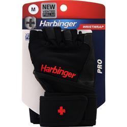 Harbinger Pro Wristwrap Glove Black (M) 2 glove