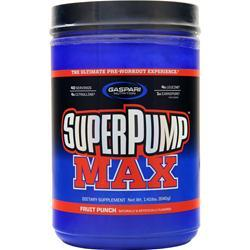 Gaspari Nutrition SuperPump Max Fruit Punch Blast 1.41 lbs