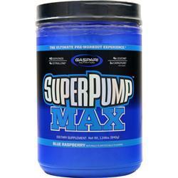 Gaspari Nutrition SuperPump Max Blue Raspberry Ice 1.14 lbs