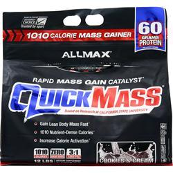 Allmax Nutrition QuickMass Cookies and Cream 12 lbs
