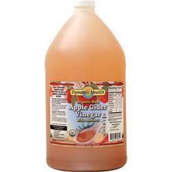 Dynamic Health Apple Cider Vinegar with Mother (Organic Raw) 128 fl.oz
