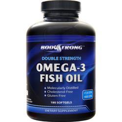 BodyStrong Omega-3 Fish Oil (Double Strength) 180 sgels