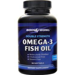 BodyStrong Omega-3 Fish Oil (Double Strength) 90 sgels