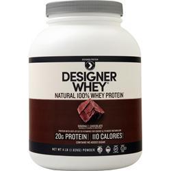 Designer Whey Designer Whey Protein Natural Gourmet Chocolate 4 lbs