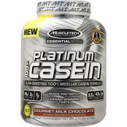 Muscletech Essential Series - Platinum 100% Casein Gourmet Milk Chocolate 3.75 lbs