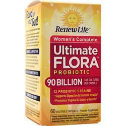 Renew Life Ultimate Flora Probiotic - Women's Complete 90 Billion 60 vcaps