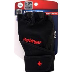 Harbinger Pro Wristwrap Glove Black (XXL) 2 glove