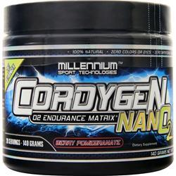 Millennium Sports Cordygen Nano2 Berry Pomegranate 140 grams