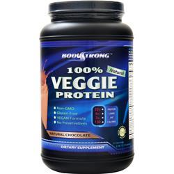 BodyStrong 100% Veggie Protein Natural Chocolate 2.5 lbs