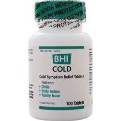 Heel BHI - Cold 100 tabs