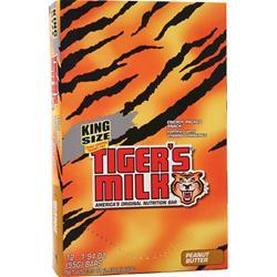 Tiger's Milk King Size Tiger's Milk Bar Peanut Butter 12 bars
