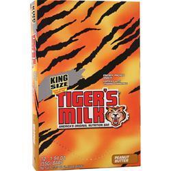 Tiger's Milk King Size Tiger's Milk Bar Protein Rich 12 bars
