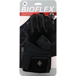 Harbinger Bioflex Wristwrap Glove Blue (Large) 2 glove