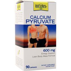Natural Balance Calcium Pyruvate (600mg) 90 caps