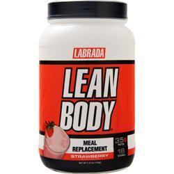 Labrada Lean Body Shake Strawberry 2.47 lbs