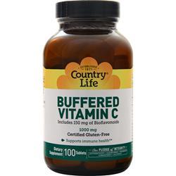Country Life Buffered Vitamin C (1000mg) 100 tabs